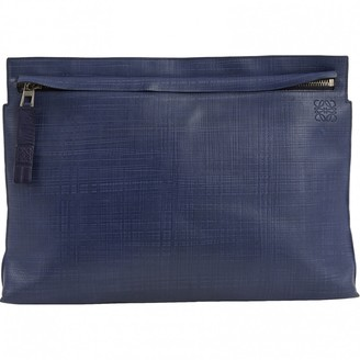 Loewe Navy Leather Purses, wallets & cases