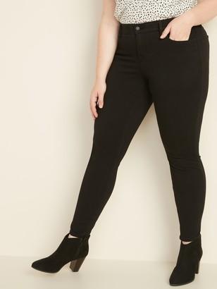 Old Navy High-Waisted Secret-Slim Pockets + Waistband Plus-Size 24/7 Sculpt Rockstar Jeans