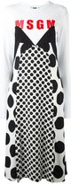 MSGM polka dots T-shirt dress