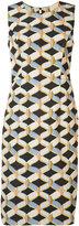 Milly printed sleeveless dress - women - Polyester/Spandex/Elastane/Cotton/Viscose - 2