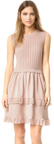 RED Valentino Pointelle Ruffle Dress