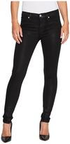 Hudson Nico Mid-Rise Super Skinny in Shattered Women's Jeans