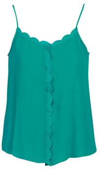 Betty London KALOTTE women's Blouse in Blue
