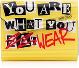 Jimmy Choo CANDY You Are What You Wear Acrylic Clutch Bag