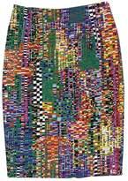 Marimekko MultiColor Geo Print Cotton Pencil Skirt