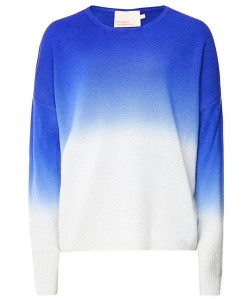 Absolut Cashmere - Leila Ombre Blue Jumper - XS