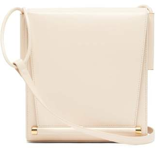 Roksanda Box Medium Leather Shoulder Bag - Womens - White