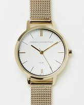 French Connection Slim Mesh Strap Watch