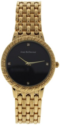 Jean Bellecour Unisex-Adult Analogue Classic Quartz Watch with Stainless Steel Strap REDS20-GB