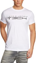 La Redoute Jack And Jones Tech Mens Round Neck T-Shirt Size L