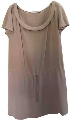 Cacharel Pink Silk Dress for Women