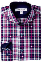 Isaac Mizrahi Gingham Button Shirt (Toddler, Little Boys, & Big Boys)