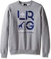 Lrg Men's Crewneck Branded Logo Sweatshirt, S