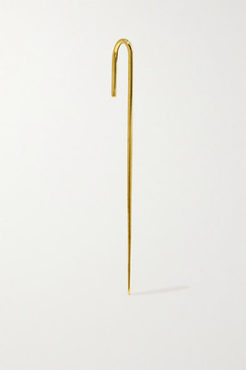 KatKim Thread Gold Ear Pin - One size