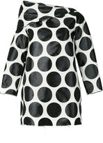 Marques Almeida Marques'almeida - polka dot shift dress - women - Polyamide/Polyester/Viscose/Wool - XS
