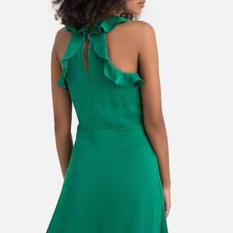 La Redoute Collections Ruffled Back Skater Dress