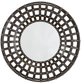 Signature Design by Ashley Brown & Gold Ogier Accent Mirror