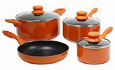Gibson Colorsplash Branston 7-pc. Cookware Set