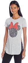Disney Women's Minnie High-Low Tunic T-Shirt