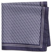 BOSS Men's Geometric Pocket Square