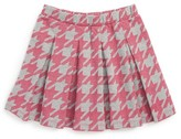 Tea Collection Toddler Girl's Houndstooth Skirt