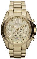 Michael Kors Bradshaw Goldtone Stainless Steel Chronograph Bracelet Watch