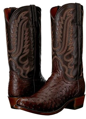 Lucchese Hueco (Sienna) Cowboy Boots