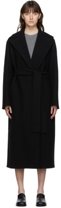 The Row Black Malika Coat
