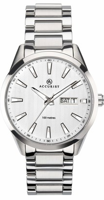 Accurist Men's Analogue Japanese Quartz Watch with Stainless Steel Strap 7218