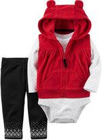 Carter's Girls Long Sleeve Pant Set-Baby