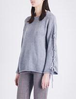 See by Chloe Cross-tie knitted jumper
