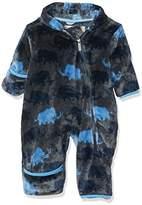 Hatley Baby Boys' Mini Fuzzy Fleece Bundler Jacket
