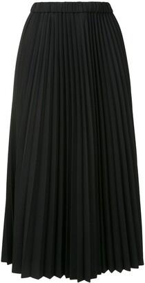 Jil Sander Pleated Midi Skirt