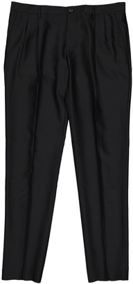 Dolce & Gabbana Black Wool Trousers