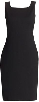 St. John Caviar Milano Knit Dress