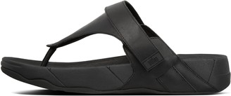 FitFlop Ethan Leather Toe-Post Sandals