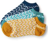 3-Pack Chevron Ankle Socks