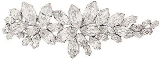 Christian Dior X Susan Caplan 1992 Archive Leaf Design Crystal Brooch
