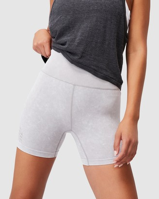 Cotton On Body Active - Women's Grey Tights - Seamless Yoga Shorts - Size XS/S at The Iconic