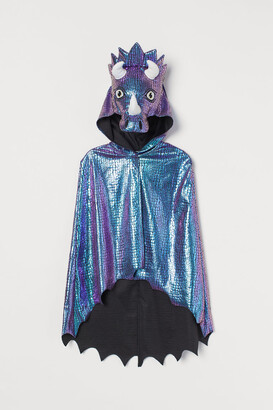 H&M Shimmery Costume Cape - Green