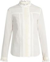 Max Mara Tropico cotton-poplin blouse