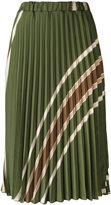 Roberto Collina pleated skirt - women - Nylon/Acetate - S