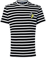Markus Lupfer stripe banana patch T-shirt - men - Cotton - M