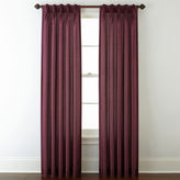 Royal Velvet Encore Pinch-Pleat/Back-Tab Curtain Panel