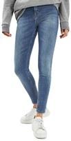 Topshop Women's Jamie High Waist Crop Skinny Jeans