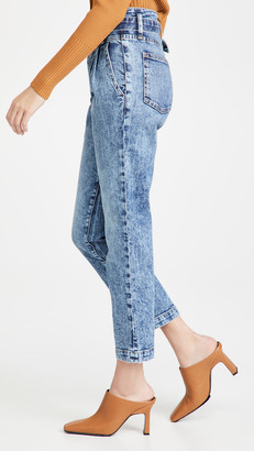 JONATHAN SIMKHAI STANDARD Theo Belted Pleated Jeans