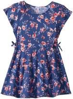 Splendid Littles Floral Print Ruffle Dress Girl's Dress