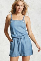 Forever 21 D-Ring Denim Romper