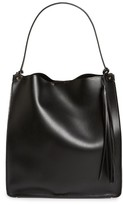 Sole Society Karlie Faux Leather Bucket Bag - Black