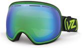 Von Zipper Fishbowl Sunglasses Mindglo Lime GMSN7FIS 100mm